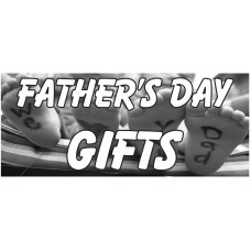 Father's Day Gifts 2.5' x 6' Vinyl Business Banner