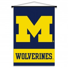 Michigan Wolverines Indoor Scroll Banner