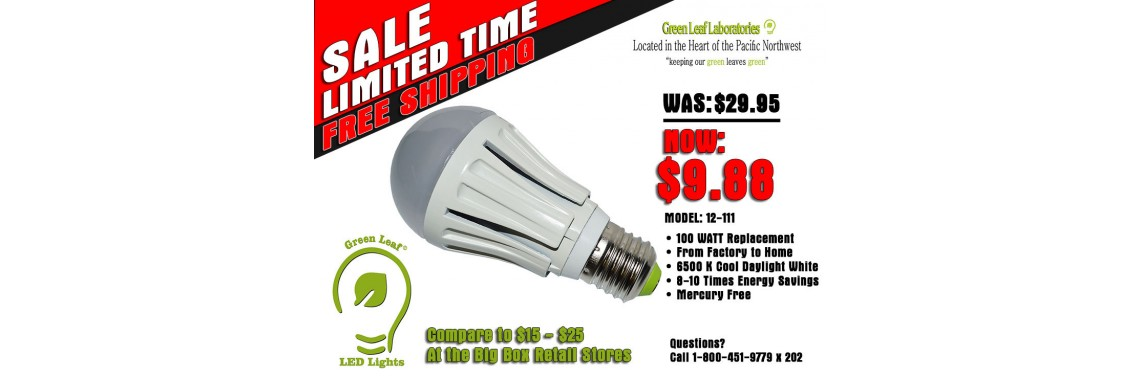 Energy Saving LED Lighting