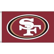San Francisco 49ers 3'x 5' NFL Flag