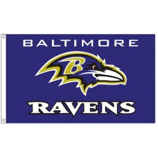 Baltimore Ravens 3'x 5' NFL Flag