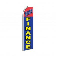 Easy Finance Swooper Flag