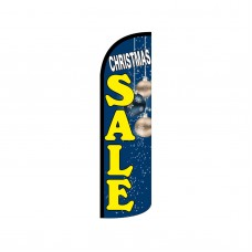 Christmas Sale Extra Wide Windless Swooper Flag