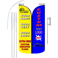Swooper Kits - Flag, Pole, Stake