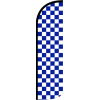 Solid Colored-Checked Swoopers