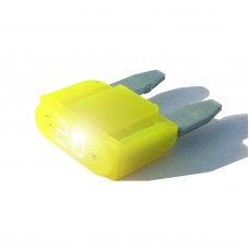 10 Pack-Intelligent 20 amp ASP Mini Blade Fuse