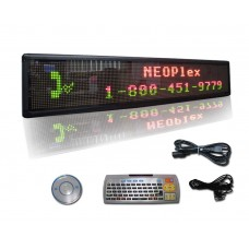 "9""H x 50""W 3 Color Scrolling LED Sign"