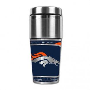 Denver Broncos Stainless Steel Tumbler Mug