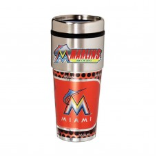 Florida Marlins Stainless Steel Tumbler Mug