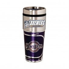 Milwaukee Brewers Stainless Steel Tumbler Mug