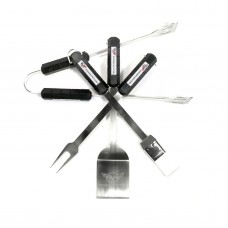 Corvette 4 Piece BBQ Set