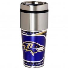 Baltimore Ravens Stainless Steel Tumbler Mug