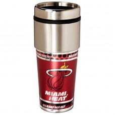 Miami Heat Stainless Steel Tumbler Mug