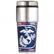 United States Marines Stainless Steel Tumbler Mug