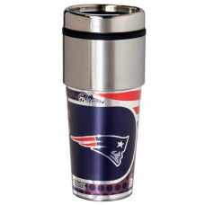 New England Patriots Stainless Steel Tumbler Mug