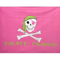 Pirate Princess Polar Fleece Throw/Blanket