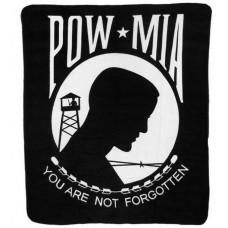 United States POW-MIA Polar Fleece Throw/Blanket