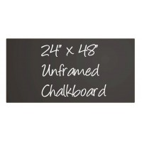 "24""x 48"" (2'x4') Frameless Chalkboard Sign"