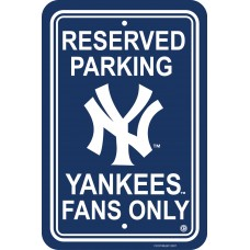 New York Yankees Parking Sign 12