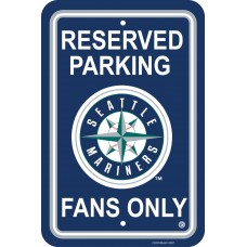 Seattle Mariners Parking Sign