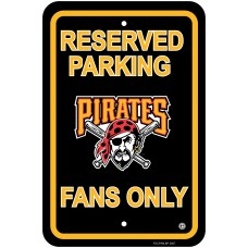 Pittsburgh Pirates Parking Sign 12