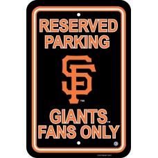 San Francisco Giants Parking Sign
