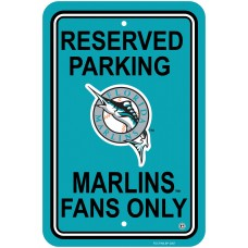 Miami Florida Marlins Parking Sign