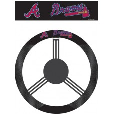 Atlanta Braves Steering Wheel Cover