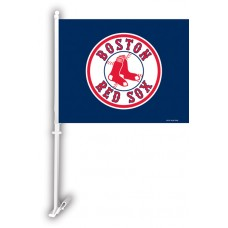 Boston Red Sox Two Sided Car Flag