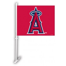 Los Angeles Anaheim Angels Two Sided Car Flag