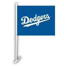 Los Angeles Dodgers Two Sided Car Flag