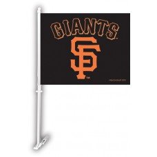 San Francisco Giants Two Sided Car Flag