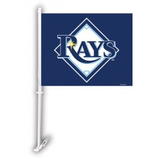 Tampa Bay Rays Two Sided Car Flag