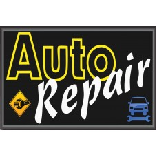 Auto Repair 2' x 3' Vinyl Business Banner