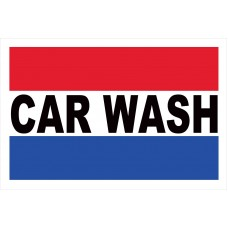 Car Wash 2' x 3' Vinyl Business Banner