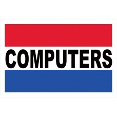 Computers 2' x 3' Vinyl Business Banner