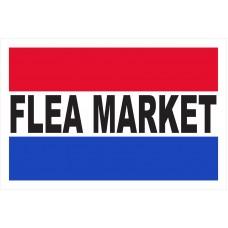 Flea Market Business Banner Sign