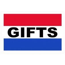 Gifts 2' x 3' Vinyl Business Banner