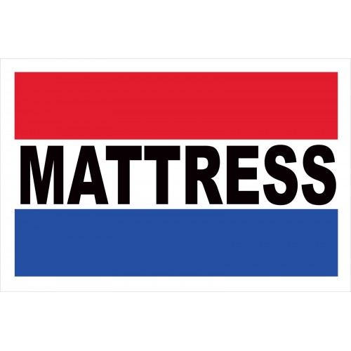 Mattress 2 x 3 Vinyl Business Banner BN0091 by