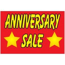 Anniversary Sale 2' x 3' Vinyl Business Banner