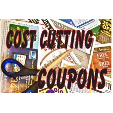 Cost Cutting Coupon 2' x 3' Vinyl Business Banner