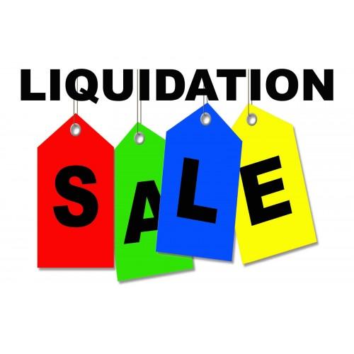 Liquidation Sale 2 X 3 Vinyl Business Banner Bn0213