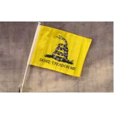Don't Tread On Me Car Window Flag
