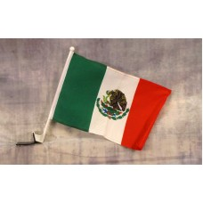 Mexico Car Window Flag