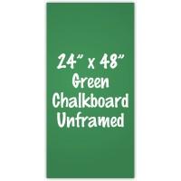 "24""x 48""(2'x4') Frameless Green Chalkboard"