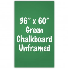 "36"" x 60"" Unframed Green Chalkboard Sign"