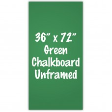 "36"" x 72"" Unframed Green Chalkboard Sign"