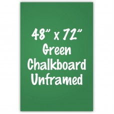 "48"" x 72"" Unframed Green Chalkboard Sign"