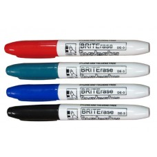 Chisel Tip Dry Erase Markers-4 Pc Set