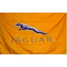 Jaguar Automotive Logo 3'x 5' Flag